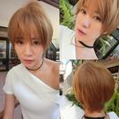 韓系全頂假髮 韓劇她很漂亮短髮 高品質假...