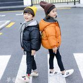 兒童羽絨服 女童棉衣 新款兒童冬裝加厚外套 韓版棉襖寶寶棉服男童棉衣 夢藝家