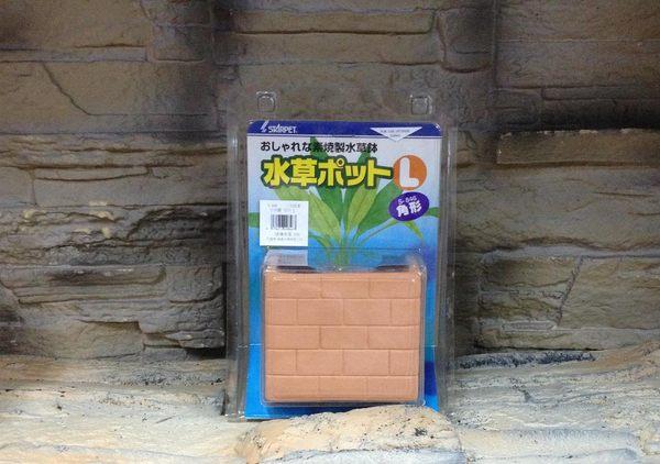 【西高地水族坊】日本首藤SUDO 水草培育角甕 水草罐