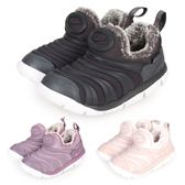 NIKE DYNAMO FREE SE (TD)女童毛毛蟲保暖運動鞋(免運 刷毛 童鞋≡體院≡