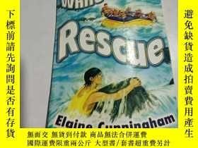 二手書博民逛書店white-water罕見rescue:白水救援(外文)Y212