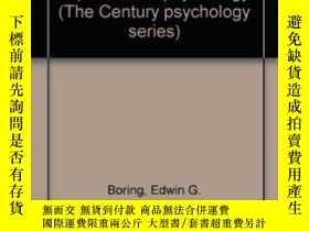 二手書博民逛書店Sensation罕見And Perception In The History Of Experimental