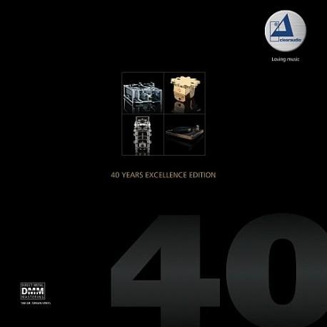 【停看聽音響唱片】【黑膠LP】「清澈 Clearaudio」40週年纪念卓越鑑聽盤(2LP)