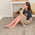 20D防勾絲網格啞光透膚絲襪(櫻花紅)