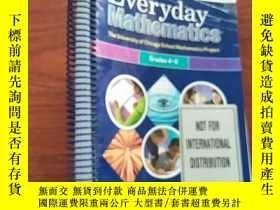 二手書博民逛書店Everyday罕見Mathematics Teachers Reference Manual Grades 4-