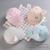 嬰兒帽子春秋季 新生兒帽子小孩遮陽帽0-3-6個月男女童寶寶鴨舌帽
