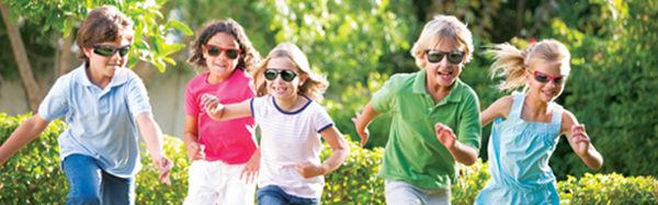 美國RKS探險家兒童太陽眼鏡4~7歲(紅黑)