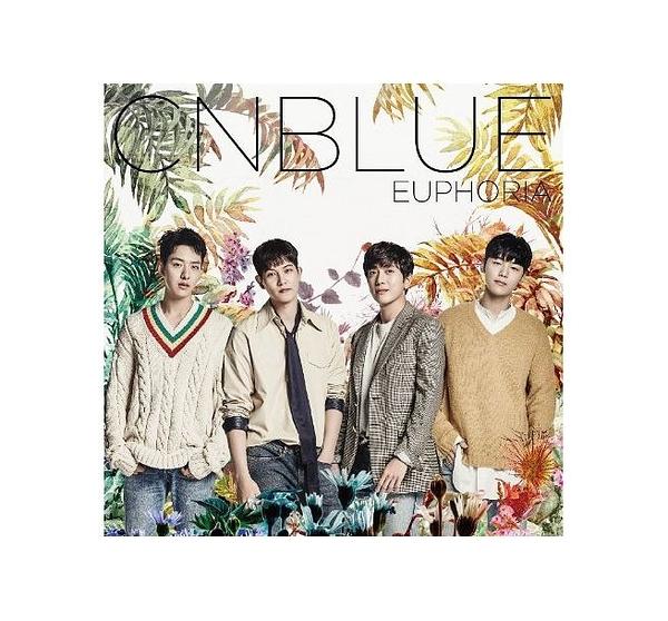 CNBLUE EUPHORIA 日本出道五周年紀念專輯 普通盤 CD (購潮8)