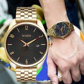 【限時特殺】NIXON THE BULLET 幾何圖形時尚潮流錶/黑金 A418-510 手錶 現貨 熱賣中!