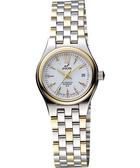 ENICAR 英納格 傳真系列時尚機械女錶-白x雙色版 778-50-316GK