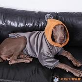 大型犬狗狗衣服冬裝保暖銀狐絨大狗衣服金毛衣服拉布拉多衣服【公主日記】
