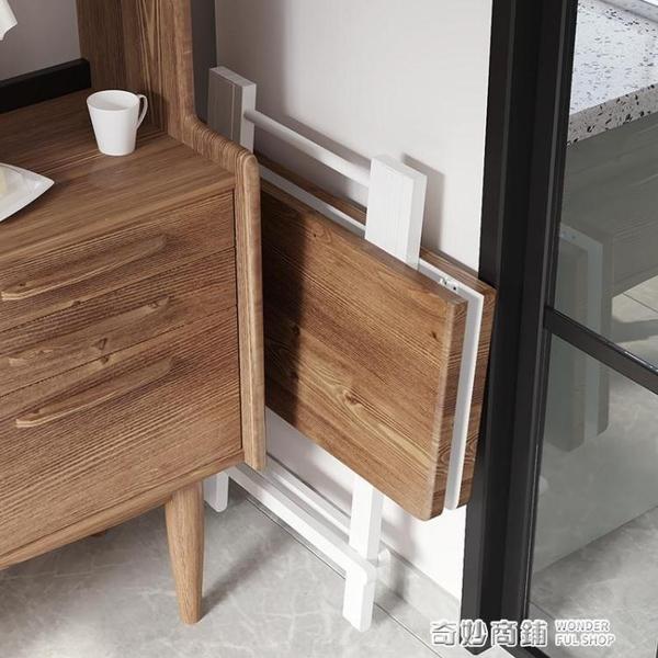摺疊桌餐桌家用小戶型方桌4人飯桌戶外便攜擺攤桌椅宿舍簡易桌子 ATF 全館免運