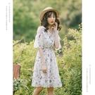 小個子雪紡裙子egg裙顯高bf女酷超仙夏...