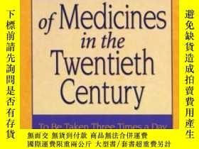 二手書博民逛書店A罕見Social History Of Medicines In The Twentieth Century