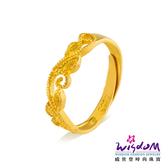 威世登 黃金戒指 女戒 華麗之戀 愛情圈套黃金對戒系列 約0.80-0.83錢 情人節 結婚金飾 GA00071G-FXX-EHX