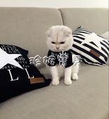 狗衣服 手工制作寵物親子裝貓咪衣服狗狗薄脾氣極差 珍妮寶貝