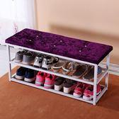 鞋架家用經濟型簡約現代多層鞋架特價簡易防塵鞋櫃組裝鐵藝收納鞋架子wy【奇趣家居】