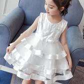 女童禮服 女童公主裙2020新款小童洋氣禮服夏裝女孩蓬蓬紗裙8兒童連身裙