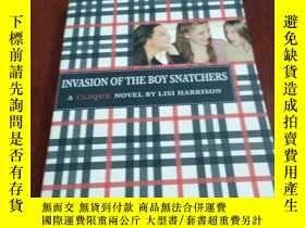 二手書博民逛書店INVASION罕見OF THE BOY SNATCHERS 搶奪男孩者的入侵Y20470 Lisi Harr