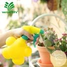 2個裝 園藝糖果色兒童澆花小噴壺迷你型氣壓式噴霧噴水壺噴瓶【白嶼家居】