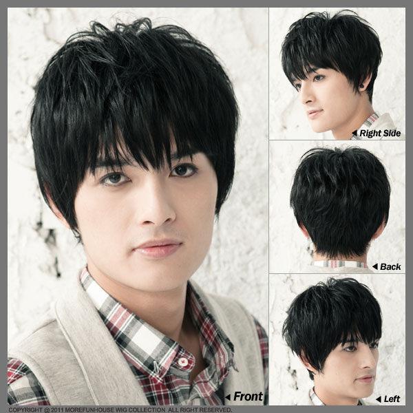 MFH韓國男生假髮◆SJ長瀏海空氣感◆【M010001】韓髮型  男生髮型  男假髮