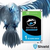 Shield神盾安控|全新附發票|Seagate監控鷹3.5吋1TB監控專用硬碟|ST1000VX005 |3年保固到府收送