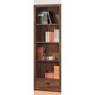 【森可家居】北歐工業風積層木2尺下抽書櫃 8SB228-6 開放式書櫥 收納 木紋質感 MIT 台灣製造