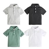 男童上衣 純棉polo衫短袖T恤 短袖襯衫 翻領上衣 88671