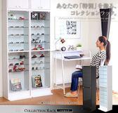 【佧蘿家居館】外銷日本 北歐 收納櫃 展示櫃 玻璃櫃 櫥櫃 玩具 公仔 收藏品 收納【A0347】