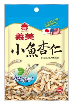 義美小魚杏仁(104g)【合迷雅好物超級商城】