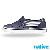 native 小童鞋 MILES 小邁斯鞋-海軍紋藍