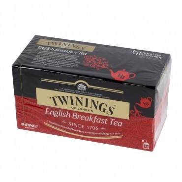 英國Twinings英倫早餐茶2gx25入