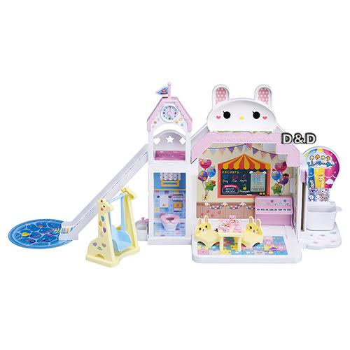 《 TAKARA TOMY 》LICCA 莉卡娃娃 莉卡歡樂兔兔幼稚園豪華組╭ ★ JOYBUS玩具百貨