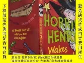 二手書博民逛書店horrid罕見henry wakes the dead 可怕的亨利喚醒了死者 Y200392
