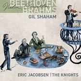 【停看聽音響唱片】【CD】貝多芬/布拉姆斯:小提琴協奏曲 夏漢 小提琴 賈柯柏森 指揮