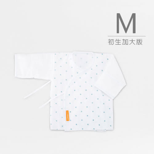 【媽咪小站】棉柔紗布肚衣 (M / 初生加大).1入裝