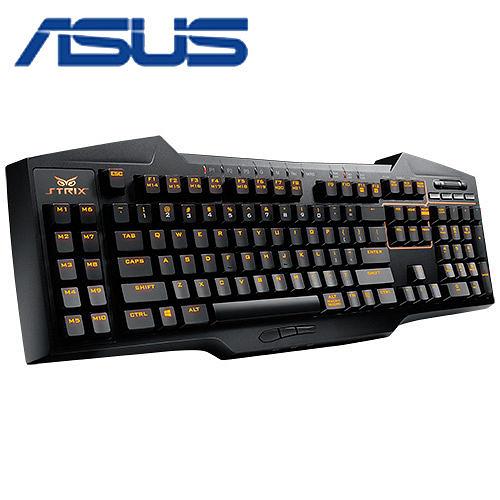 華碩 梟鷹 STRIX TACTIC PRO 機械式電競鍵盤(紅軸)