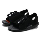 NIKE 涼鞋 SUNRAY ADJUST 5 V2 黑色 黏帶 小童 (布魯克林) DB9566-001