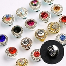 【限時下殺89折】10個隨機美甲飾品時來運轉鑽指甲水鑽旋轉鑽高速轉運珠鑽飾裝飾品鑽石