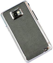 【贈保貼】SAMSUNG GALAXY SII i9100 /I-9100電鍍背蓋-時尚卡夢紋系列