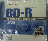 先鋒 Pioneer 25GB 1-4X BD-R 藍光空白片 台灣製造..【刷卡含稅價】
