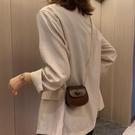 洋氣小包包女2021新款潮韓版夏季百搭單肩包時尚錬條斜挎馬鞍小包 滿天星