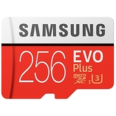 【限時至0314】 公司貨版本隨機出貨 Samsung 三星 EVO Plus 256GB microSDXC 記憶卡 公司貨