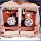 蘋果 iPhone12 iPhone11 12mini 12Pro Max SE2 XS IX XR i8+ i7 i6 鏡面氣囊支架殼 水鑽殼 手機殼 鏡面 軟殼