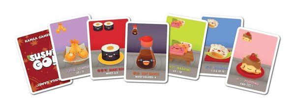 『高雄龐奇桌遊』 迴轉壽司 Sushi Go 繁體中文版 ★正版桌上遊戲專賣店★
