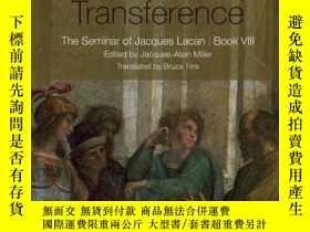 二手書博民逛書店Transference罕見  Jacques Lacan 拉康