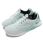 Reebok 訓練鞋 Nano X1 藍 白 健身 重訓 針織鞋面 女鞋 教練推薦【ACS】 FX3250