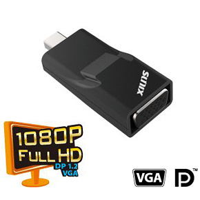 SUNIX mini DisplayPort轉VGA轉換器 (D2V27C0)