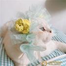 貴婦裝寵物頭飾宮廷蕾絲草莓女仆貓咪頭飾狗狗帽子皇冠拍照【小獅子】
