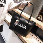 托特包 大包包女簡約2018新款女包時尚大容量手提包韓版單肩包百搭托特包